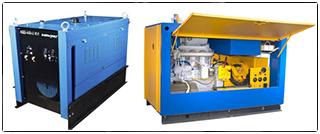 Сварочные агрегаты АДД-4004 с вспомогательным генератором