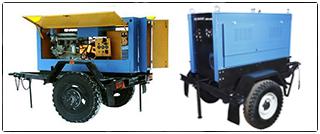 Сварочные агрегаты АДД-4004 на шасси