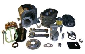 Запчасти и расходные материалы к приводным двигателям агрегатов АДД